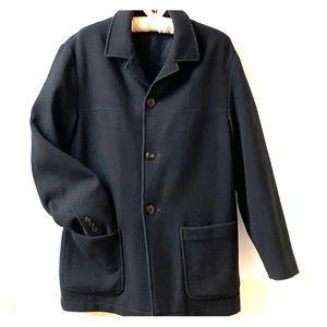 Geoffrey Beene Black Wool Blazer Size XS